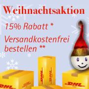 Weihnachtsaktion im Online Shop von Schäfer Glas